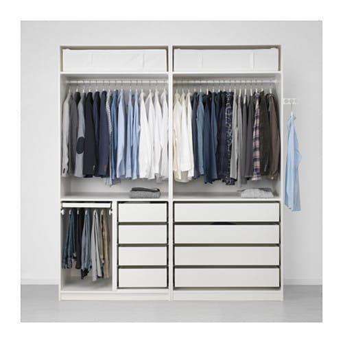 Kleiderschrank Weiß Hochglanz Ikea