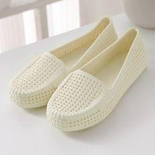 Новое Качество Летние Квартиры Женщины Super Light Hollow Cut женская Обувь Желе Повседневная Обувь Для Женщин Летние Квартиры Сандалии(China (Mainland))