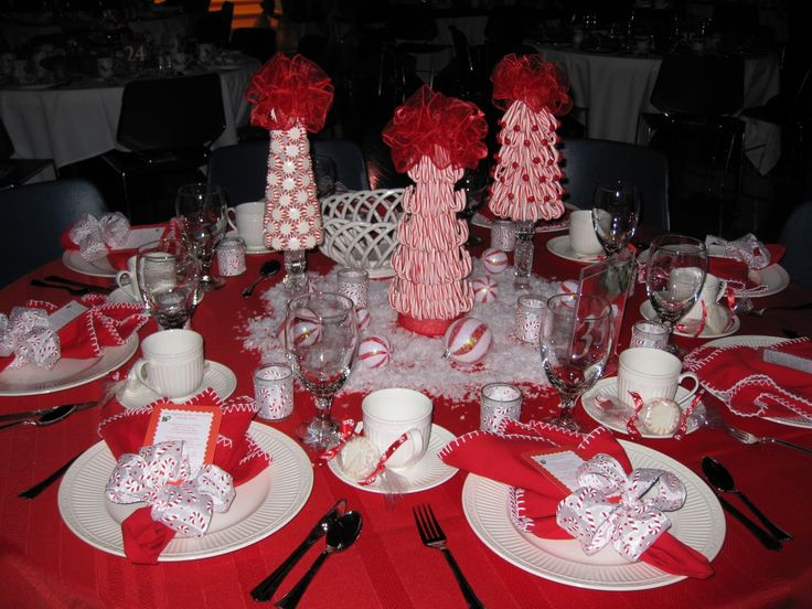 Best christmas tea centerpiece ideas images on