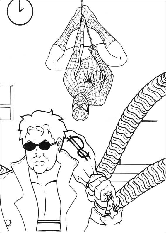 20 besten Coloriages Spiderman Bilder auf Pinterest   Malvorlagen ...