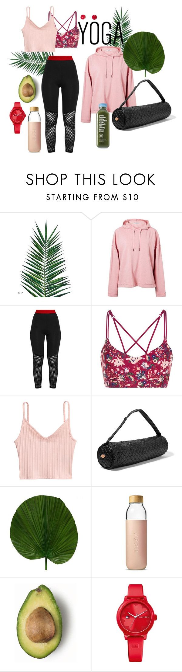 """yoga"" by nover on Polyvore featuring Nika, MANGO, Pretty Little Thing, Lorna Jane, M Z Wallace, Soma and Tommy Hilfiger"