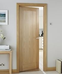 Burford Single Panel Oak | Internal Hardwood Doors | Doors & Joinery | Howdens Joinery