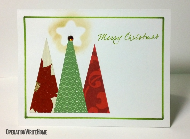 Great use for holiday scraps: Christmas Cards, Scrapbook Cards, Cards Ideas, Scrapbooking Cards, Daily Cards, Cards Shared, Cards Make Stamps, Cards Making Stamps