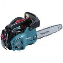 """Makita EA3100T30B 31cc professional top handle petrol chainsaw with 12"""" cutting bar and spare chain."""