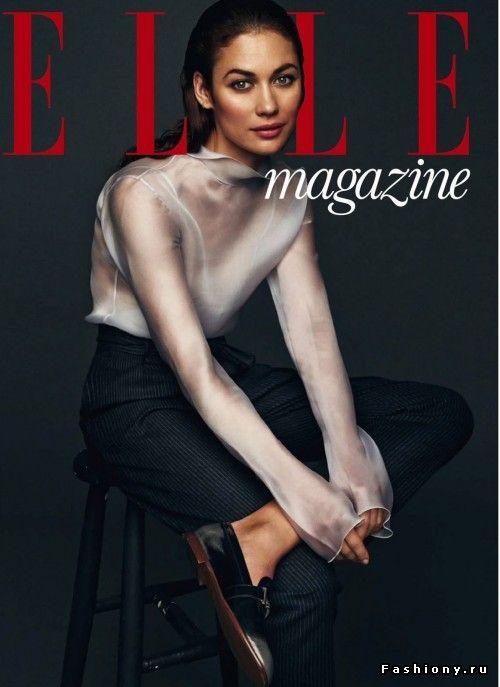 Ольга Куриленко снялась для июльского номера испанского Elle