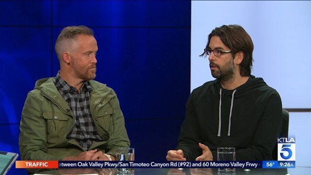 Rob Bourdon and Dave Farrell of Linkin Park Discuss the Important of Giving Back | KTLA