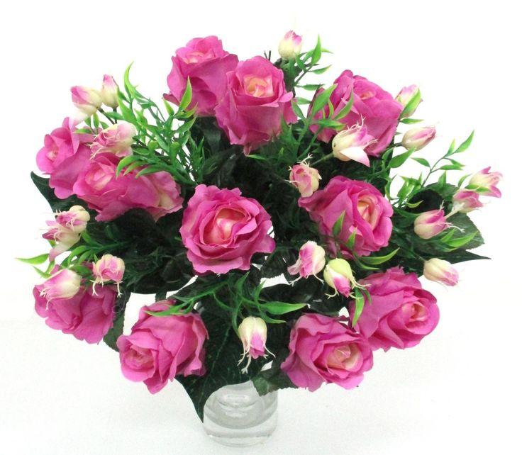 Selyem rózsacsokor a Zöldvilág Webáruházban: http://www.selyemviragok.hu/index.php?id=2007&lapszam=2