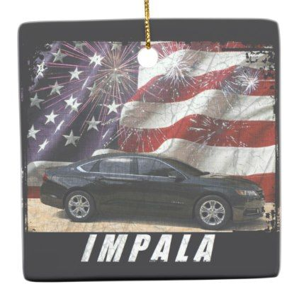 2014 Impala LT Ceramic Ornament - home gifts ideas decor special unique custom individual customized individualized