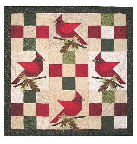 Winter's Song--Holiday birds. I absolutely have to make this.