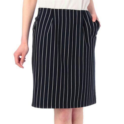 indexで購入のストライプスカート。