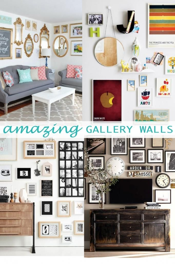 89 best gallery wall images on pinterest colors comfortable living rooms and dorm ideas - Eclectic picture frame wall ...