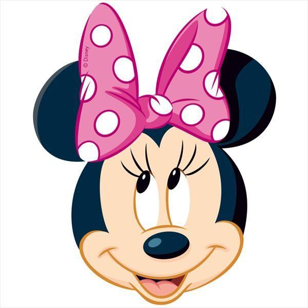 Silueta cara Minnie - Imagui