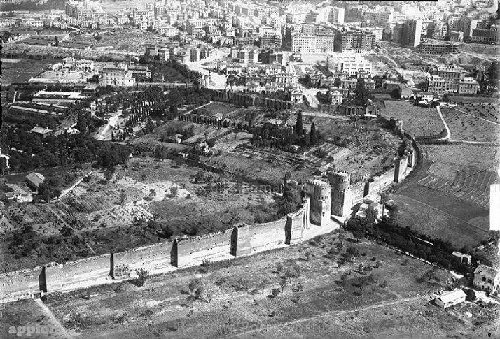 Foto storiche di Roma - Porta San Sebastiano