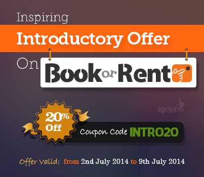 Unbelievable discount at Agriya are back. We exclusively provide a 20 % flat discount on our #booking and #rentalsoftware-BookorRent. This discount is valid till 9th July 2014. So hurry up and avail this discount before it expires.  To know more about BookorRent: http://agriya.com/products/booking-rental-software