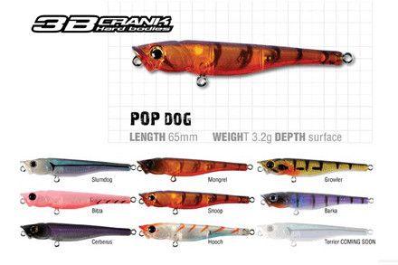 Berkley 3B Pop Dog - Import Tackle | Online Fishing Tackle Store