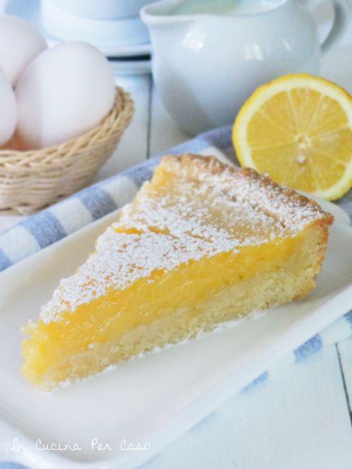 crostata al lemon curd - lemon curd tart