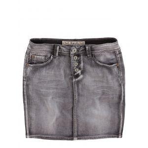 Jeans-Fritz - Rock aus Jogg-Denim mit Knopfleiste: Category: Damen > Unterteile > Röcke & Kleider > Röcke Item number: 0100393004…%#Mode%