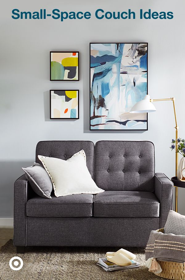 Find small-space couches & loveseats in a variety of styles ...