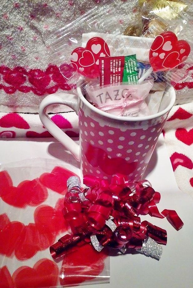 Valentine's Day 15oz. Mug/Cup coffee/Tea Gift Kit!! Perfect Gift! All Included!!