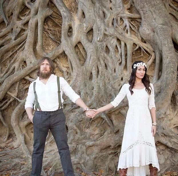 Daniel Bryan and Brie Bella engagement photo, I just love this pic!