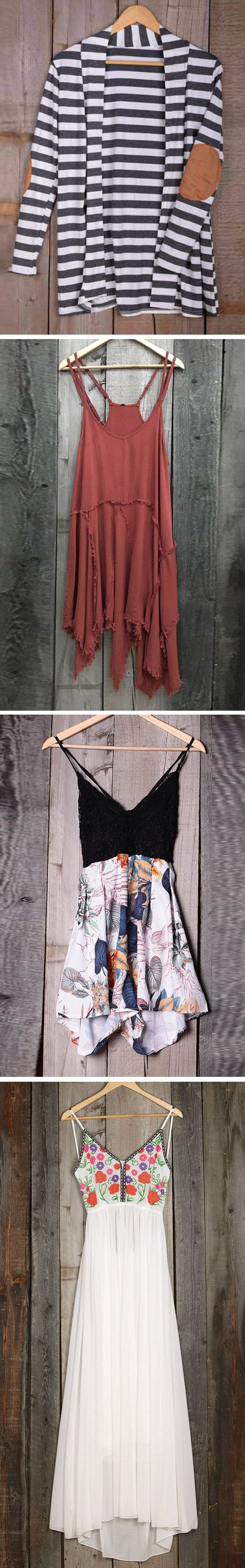 Ready for summer? Everyday new fashion. Go and find more new arrivals for this hot summer. You've found the right number to help you sail off into the sunset! Hit more attractive pieces at Cupshe.com !