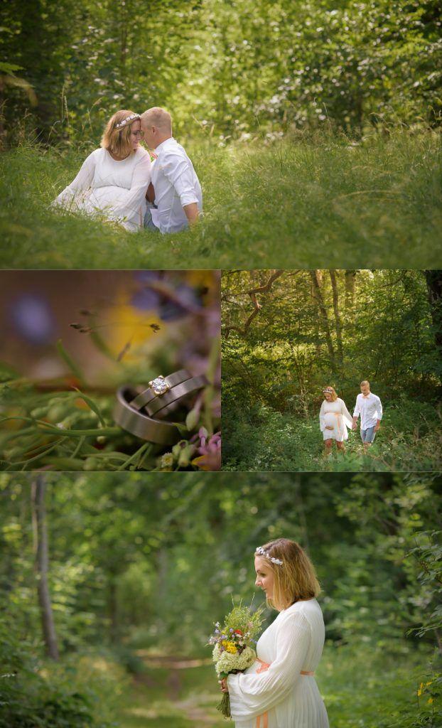 Wedding photography by Swediosh photographer Maria Lindberg. Wedding. Bride. Groom. Bridesdress. Casual wedding. Outdoor wedding. Maternity wedding dress. Bröllopsfotografering med Fotograf Maria Lindberg. www.fotografmarialindberg.se