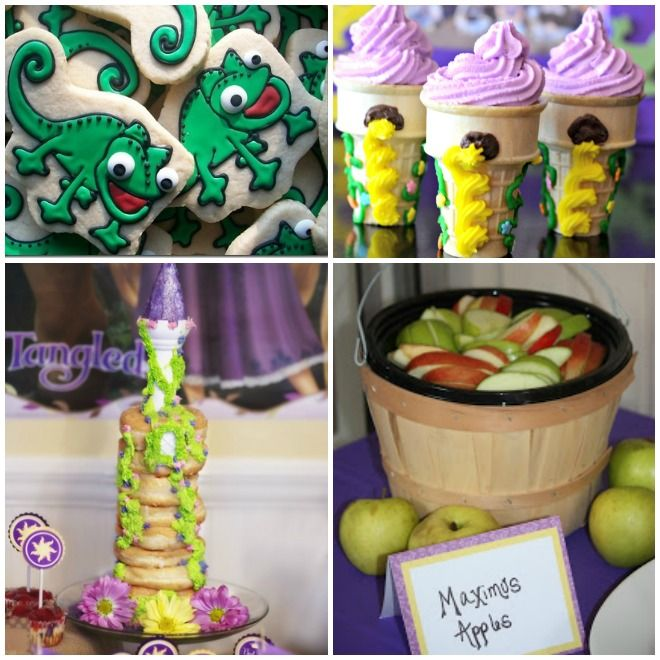 compleanno-a-tema-rapunzel-buffet