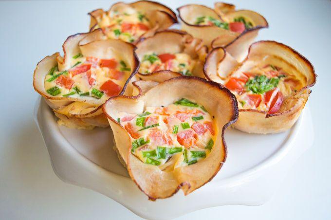 Mini+Quiches+in+Crispy+Ham+Cups+(gluten+free,+lactose+free)