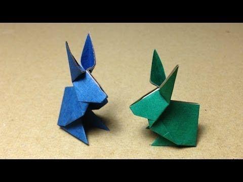 【折り紙(おりがみ)】 動物 うさぎの折り方 作り方 - YouTube
