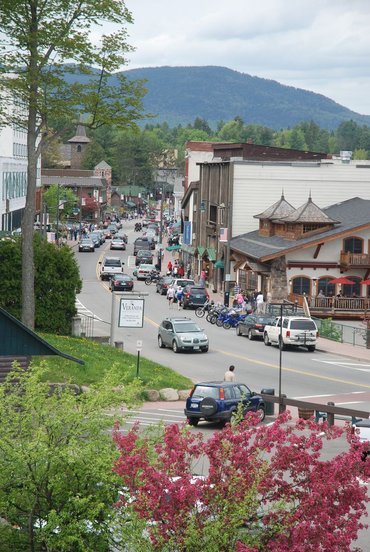 .Lake Placid, NY. I fell in love with this town last year. What a great vacation place to shop, eat, watch Olympians prepare, and take in the views!