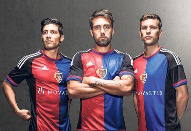 FC Basel 2015/16 adidas Home Kit