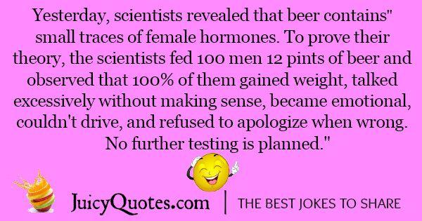 Funny Alcohol Jokes - 2