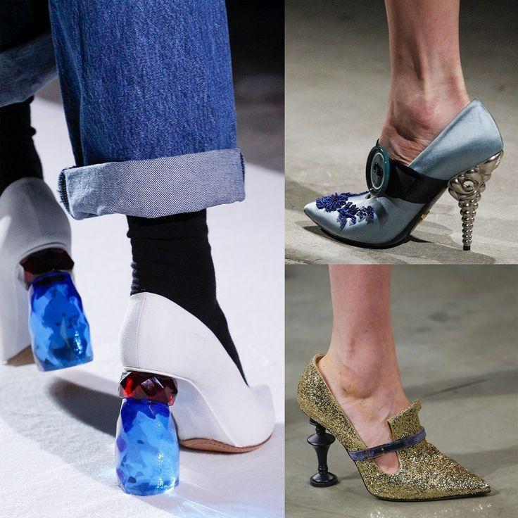 Cipő divat 2017 ősz Shoe trends FW 2017