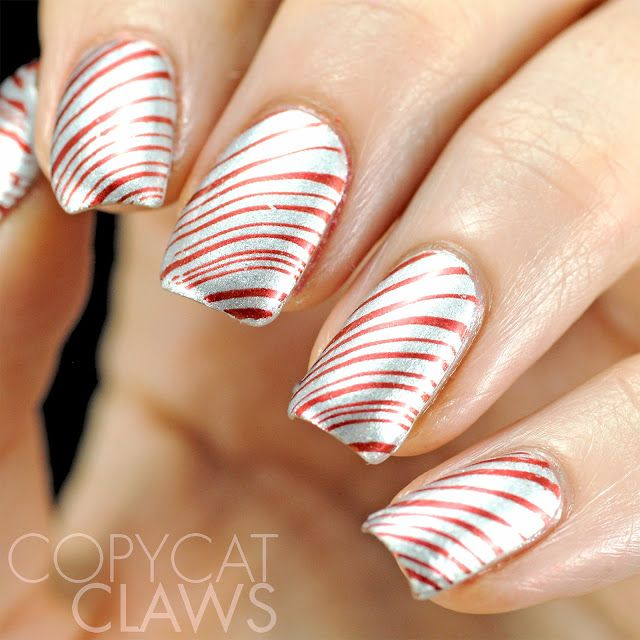 Copycat Claws: Simple Christmas Nails