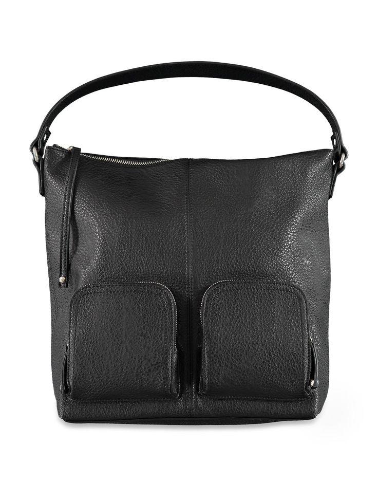 Double Pocket Hobo Bag