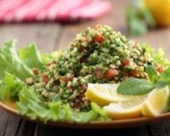 Taboulé libanais (facile, rapide) - Une recette CuisineAZ