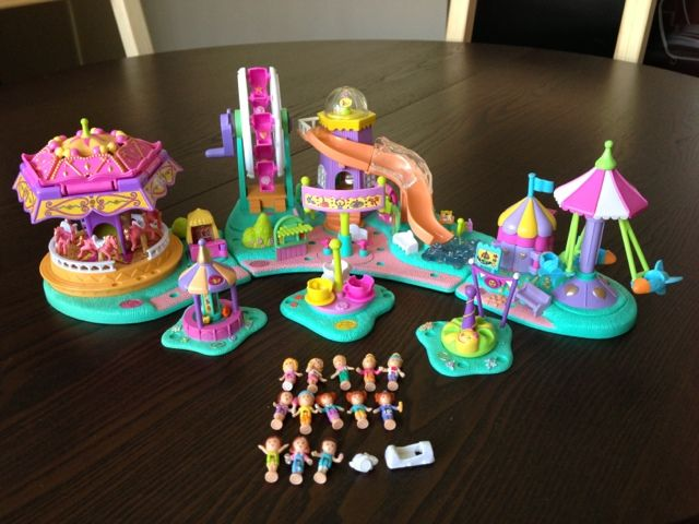 Polly Pocket 1996 Fairground - Rides and Surprises - I remember being so excited going to pick this up from toys r us.
