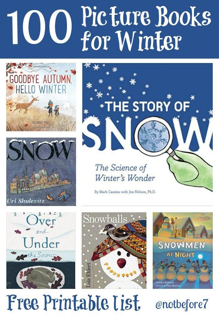 d59f4c1dfcfd A list of 100 Winter Picture Books to cozy up and read with your ...