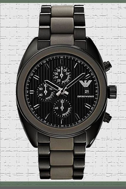 Emporio Armani Sportivo Mens Grey Silicone and Black Stainless Steel Chronograph Watch - 42mm Analog Black Face with Second Hand, 24-hour Time, Date - Luxury Quartz Chronograph Watches For Men AR5953 Price:     $199.75 & FREE Returns  #LuxuryArmaniWatches #LuxuryWatches #ArmaniWatches #MensWatches