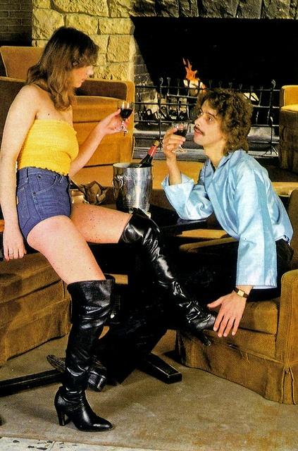 1970s Boots Porn - Golf .