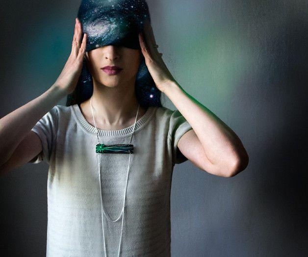 Long Necklaces – Long wooden chain necklace Comet – a unique product by…