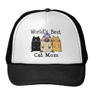 World's Best Cat Mom Trucker Hats