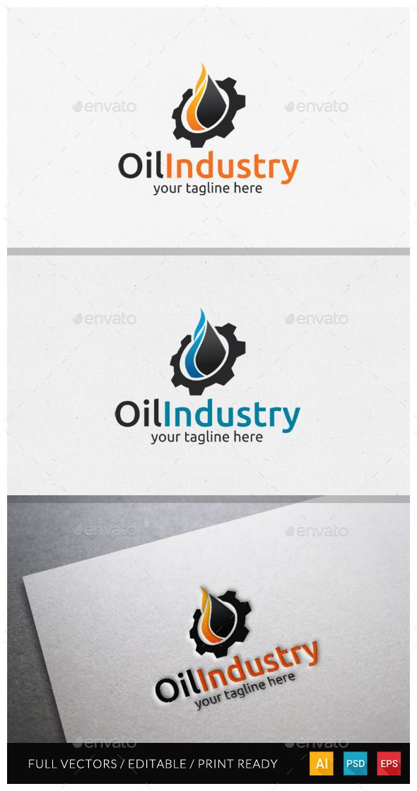 Oil Industri Logo suitable for oil company, gas company, oil/gas product, oil industrial logo, energy logo, fuel logo, rig machine