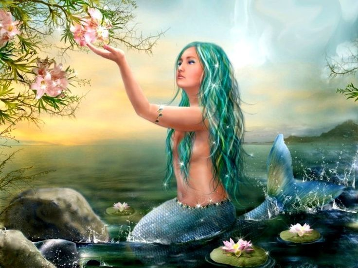 By the end of this blog post you will believe in mermaids. Love, Leslie
