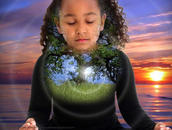 GUIDED IMAGERY: Encouraging Mindfulness in Children -child meditating