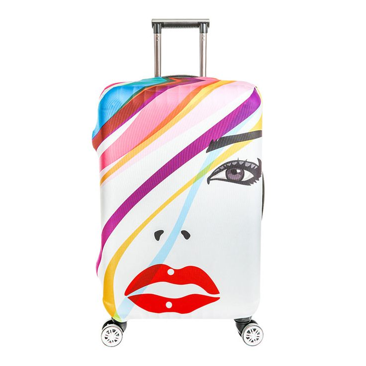 Fashion Ladies Sexy Lips Elastic Dust Cover Travel Necessary Luggage Trolley Protection Cases Accessories Supplies Products. Yesterday's price: US $8.40 (6.92 EUR). Today's price: US $8.40 (6.92 EUR). Discount: 37%.