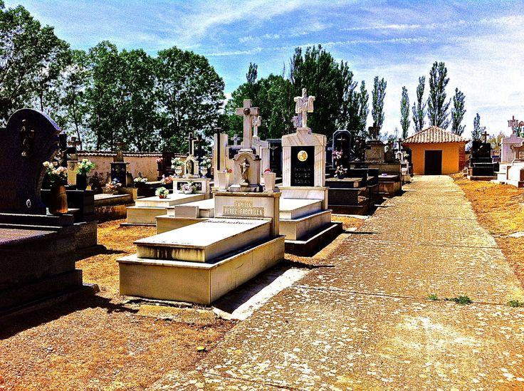 Begraafplaats in Spanje