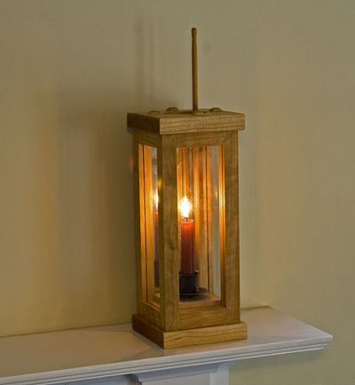 Barn Style Candle Holder
