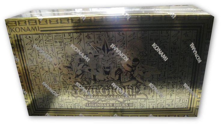 Yu-Gi-Oh Sealed Decks and Kits 183452: Yugioh Legendary Decks 2 - Kaiba, Joey, Yugi - Sealed -> BUY IT NOW ONLY: $45 on eBay!