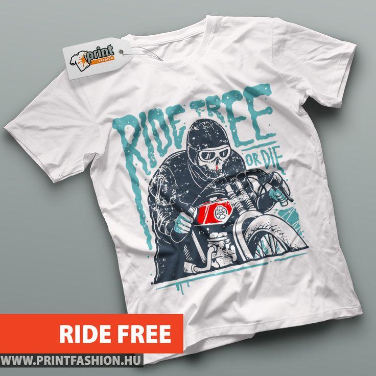 🏍 RIDE FREE 🏍 Egyedi mintás pólók, atléták, pulcsik, táskák, párnahuzatok! WEBSHOP: 🛒https://printfashion.hu/mintak/reszletek/ride-free/ferfi-polo/  További MOTOROS mintáink: 👉https://printfashion.hu/kereses/?kulcsszo=motoros